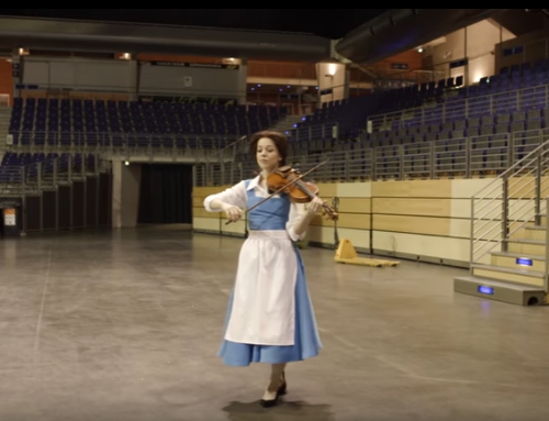 Beauty and the Beast Violin Performance