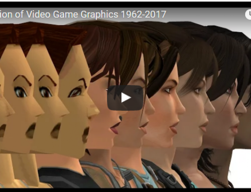 The fascinating evolution of video games graphics from 1960's until today