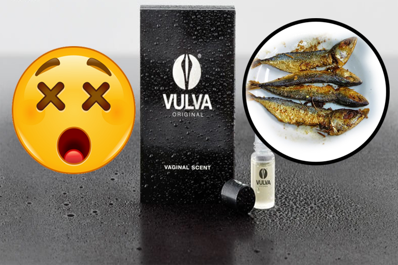 Perfume with Vaginal Scent