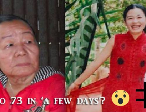 Woman who Mysteriously Aged Overnight
