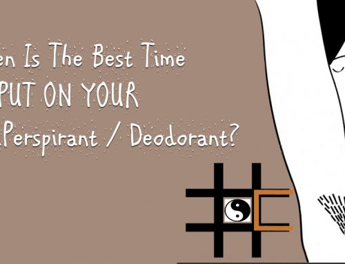 What is the best time to use a deodorant?