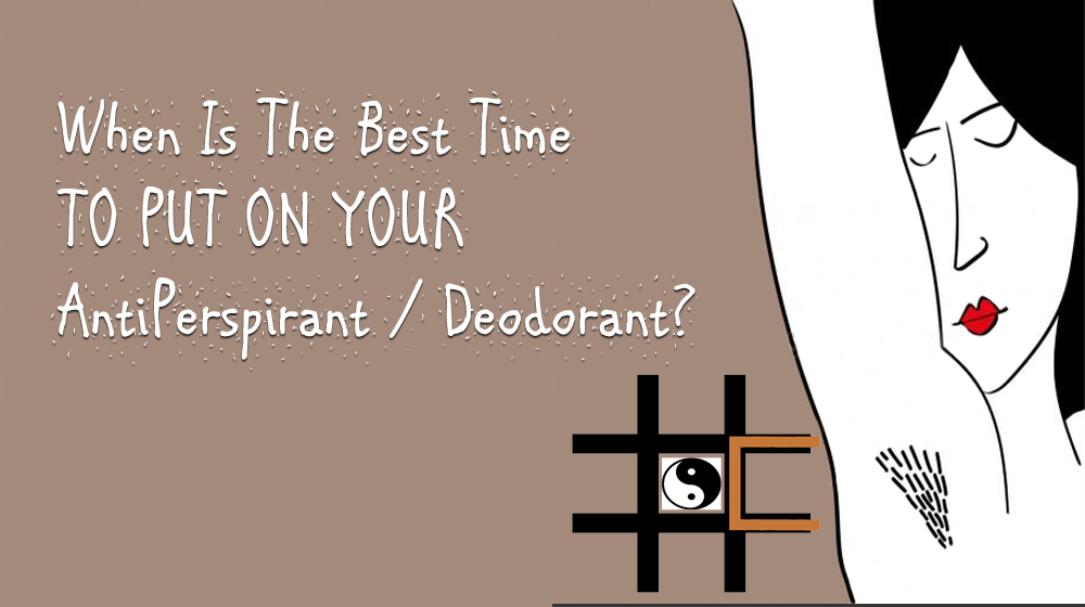 best time to use a deodorant