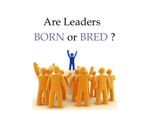 Are leaders really born or bred?